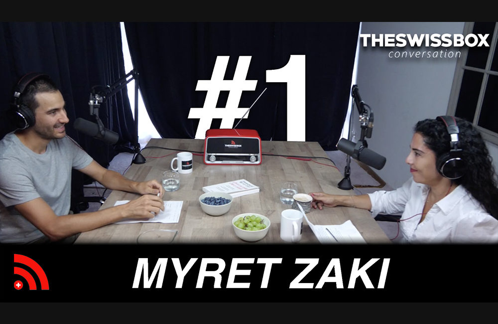 La crise des médias avec MYRET ZAKI - crise dollars - or - TheSwissBox Conversation podcast