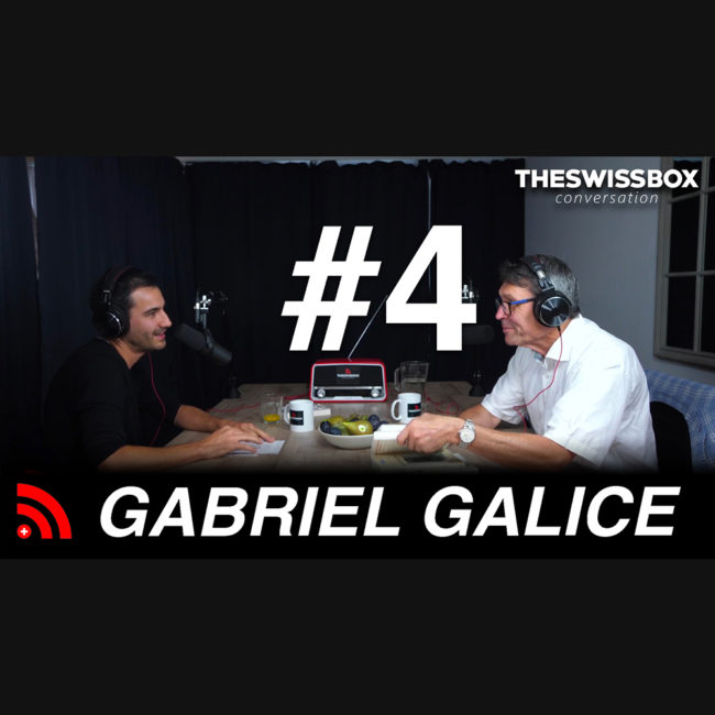 La science de la paix et l'état du monde avec GABRIEL GALICE - TheSwissBox Conversation podcast