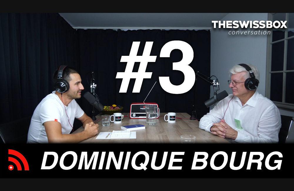 L'urgence climatique avec DOMINIQUE BOURG - TheSwissBox Conversation podcast