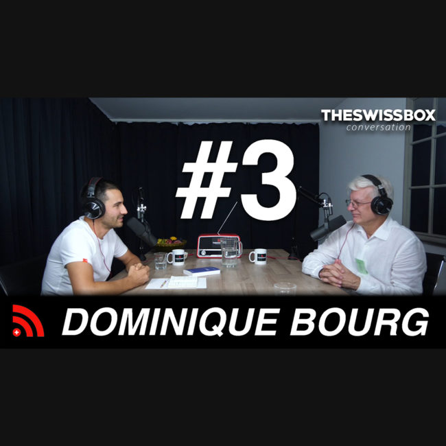 L'urgence climatique avec DOMINIQUE BOURG - TheSwissBox Conversation podcast