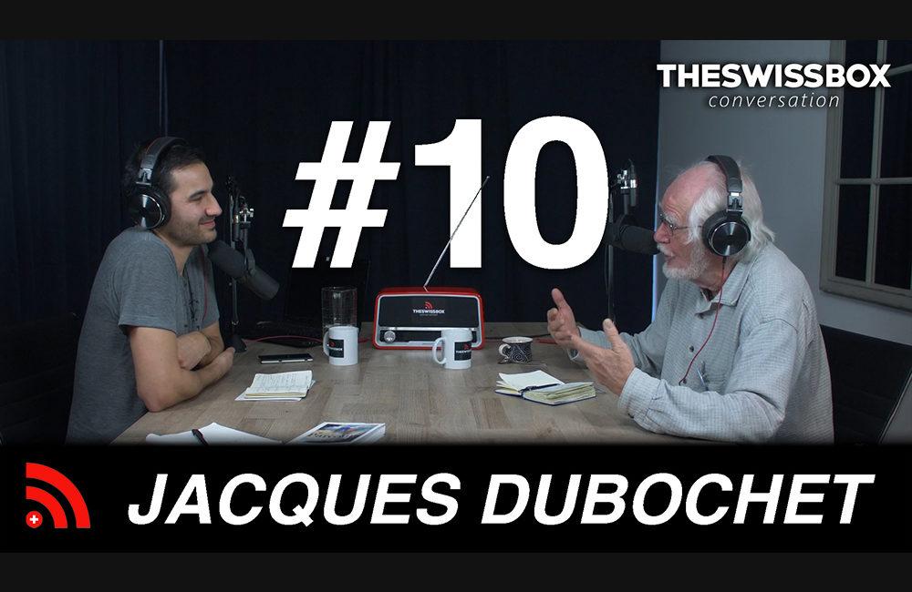 Parcours et réflexions d'un prix Nobel de chimie avec JACQUES DUBOCHET - The SwissBox Conversation Podcast