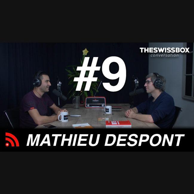 Spirale dynamique, Revenu de Base Inconditionnel et monnaie avec MATHIEU DESPONT - Martouf le synthéticien - TheSwissBox conversation Podcast