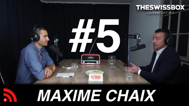 maxime chaix the swissbox conversation