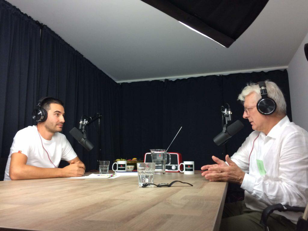 Antoine the swissbox conversation podcast media Dominique Bourg