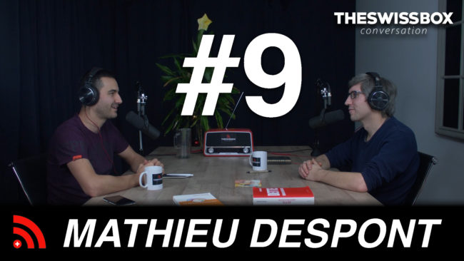 Mathieu Despont Martoufpodcast The SwissBox conversation
