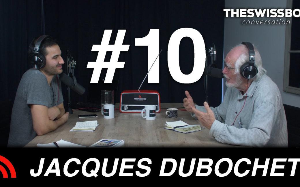 Jacques Duobchet Swisspox podcast