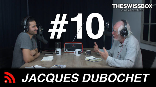Jacques Duobchet Swisspox podcast