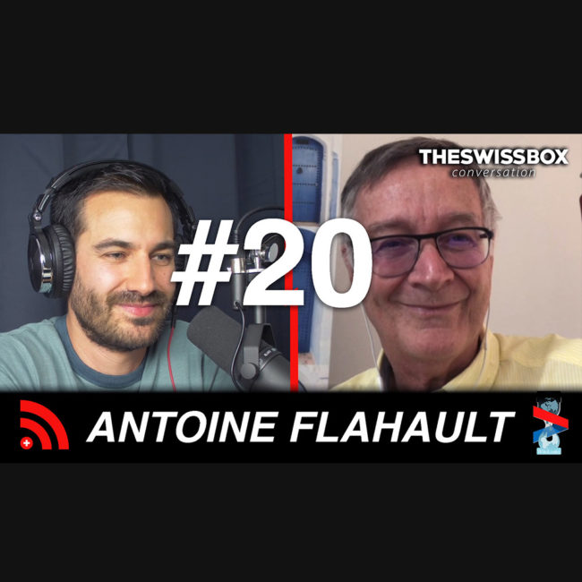 antoine flahoult podcast swissbox