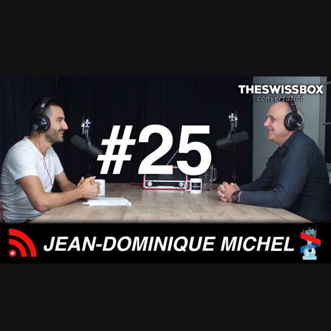 Jean Dominique Michel est spécialiste en anthropologie médicale et expert en santé publique. podcast swissbox conversation covid-19 coronavirus