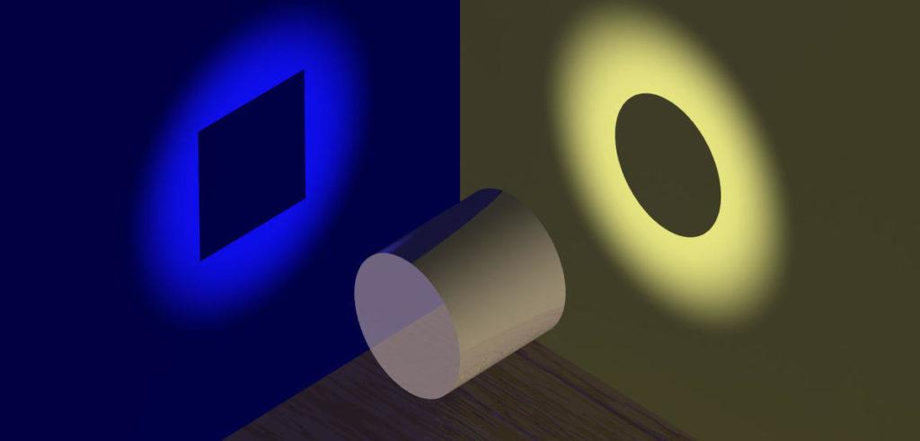 vérité non dualité, un cylindre est un carré ET un cercle