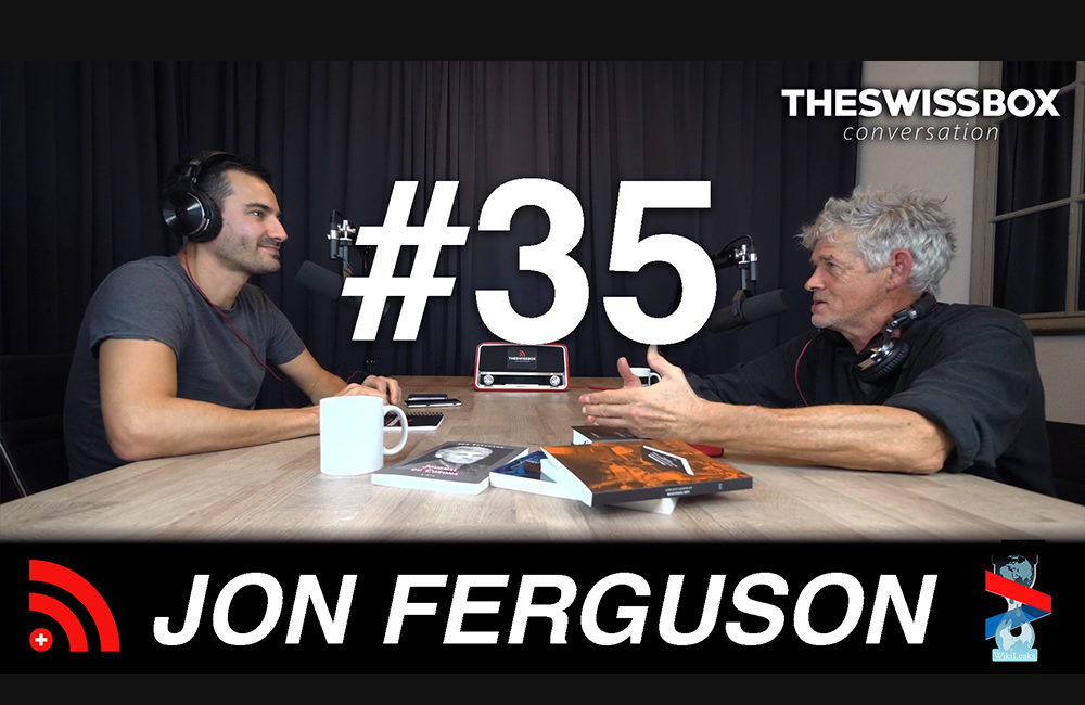 Digressions philosophiques entre Suisse et USA avec Jon Ferguson, TheSwissBox Conversation
