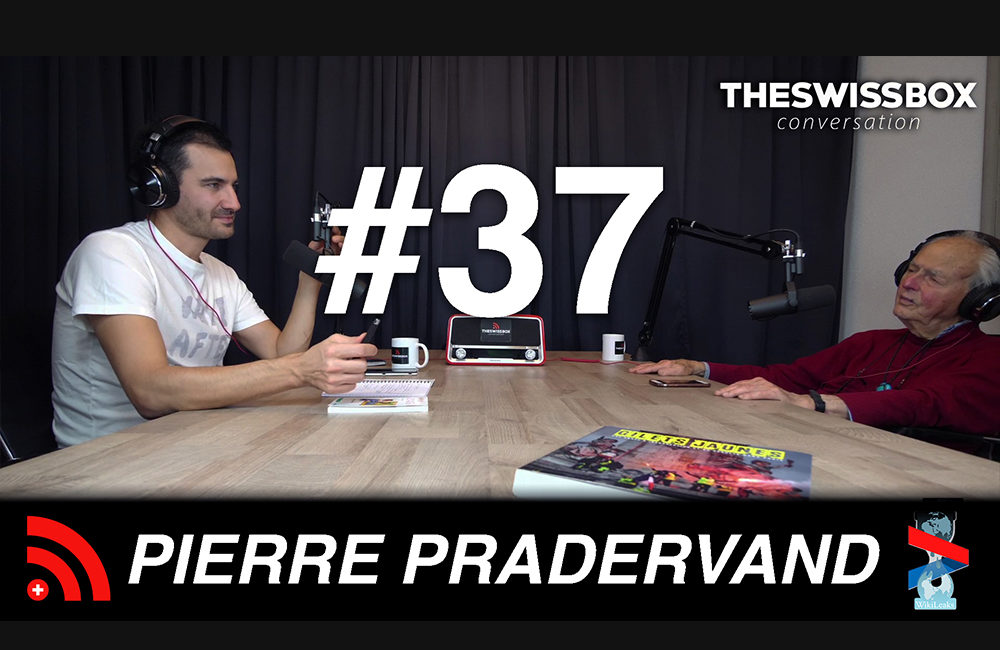 Pierre Pradervant, TheSwissBox Conversation