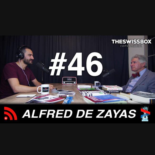 Dans la peau d'un rapporteur de l'ONU avec Alfred de Zayas, TheSwissBox Conversation