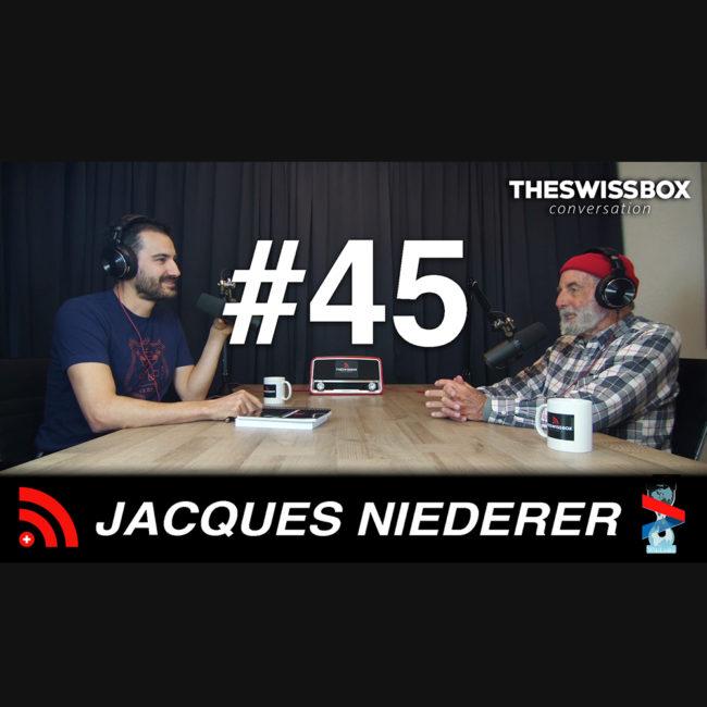 Effondrement puis métamorphose avec Jacques Niederer, TheSwissBox Conversation