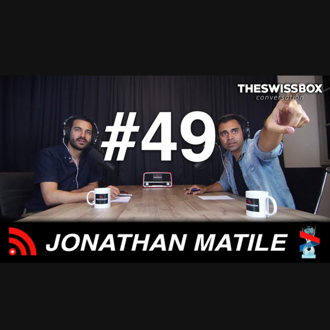 Psychologie et expériences spirituelles avec Jonathan Matile, TheSwissBox Conversation