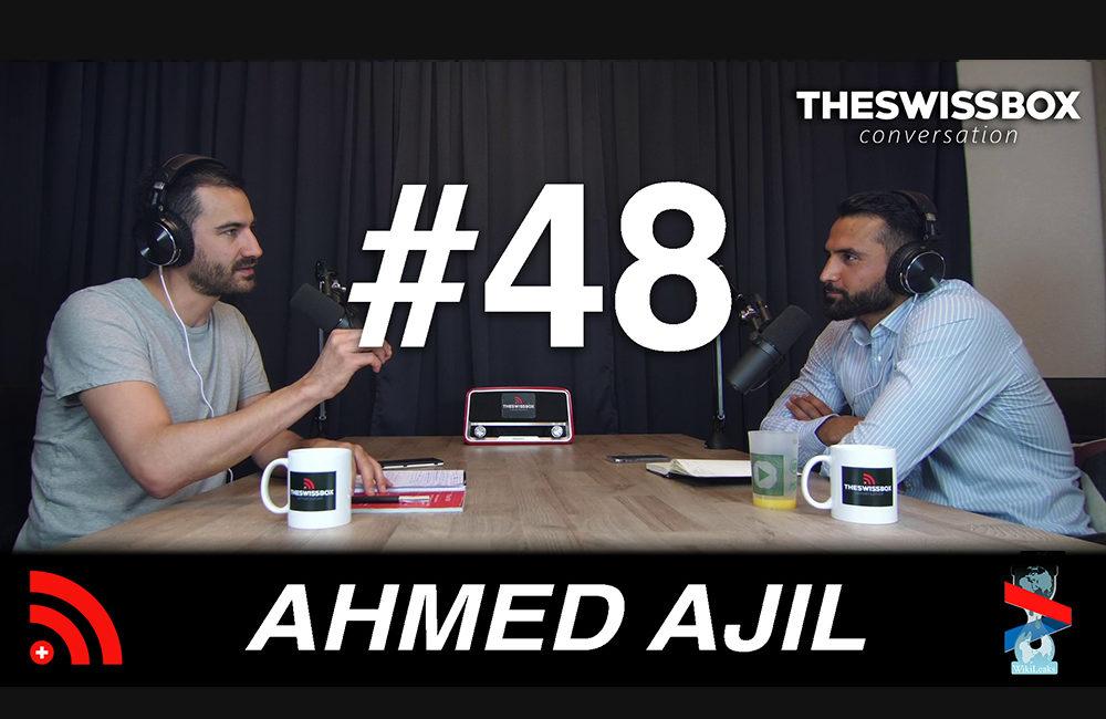 Terrorisme où comment créer l'insécurité avec Ahmed AJIL, TheSwissBox Conversation